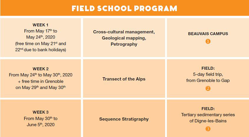 Geological Field School Program